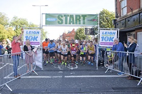 Runaway success for the first Leigh Community 10k