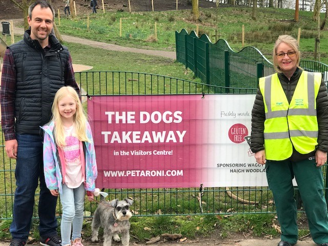 Haigh Doggy Walks bark by popular demand with new sponsor