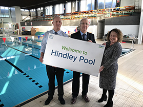 Hindley Pool - Now Open