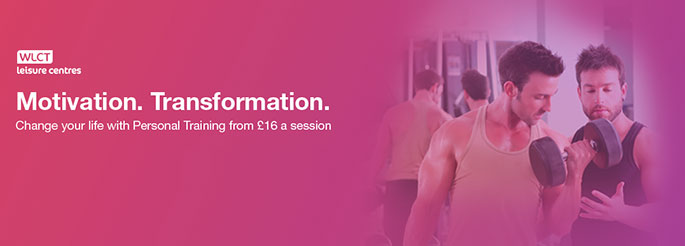 Get our PT Lifestyle package and pay just £16 per session!
