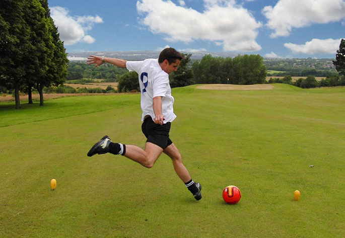 Play FootGolf at Haigh Golf Complex