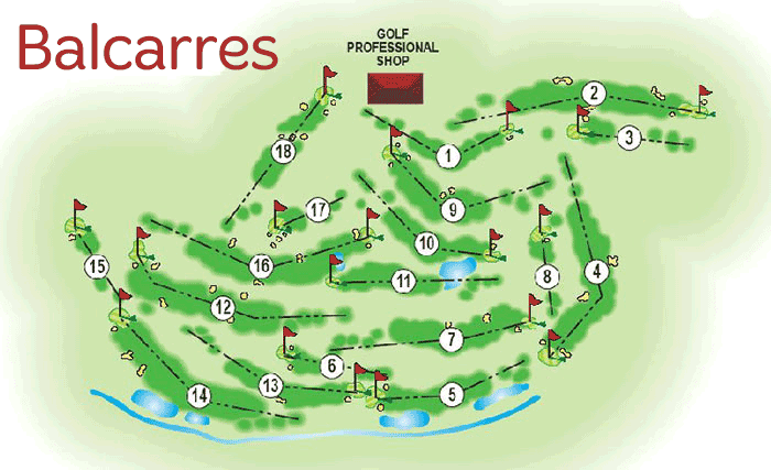 The 18 hole Balcarres course at Haigh Golf Complex