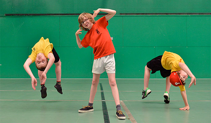 Children have more fun at Active Holiday Camps