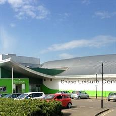 Chase Leisure Centre is set to benefit from a £500k investment.