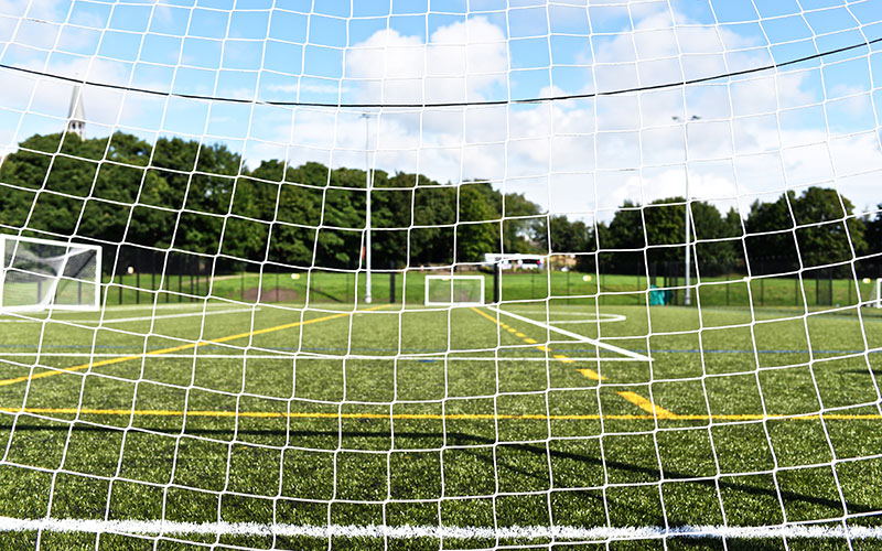 The new 3G sports pitch at Howe Bridge Leisure Centre