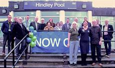 Hindley Pool re-opens