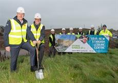 Working together to build Standish Leisure Centre.