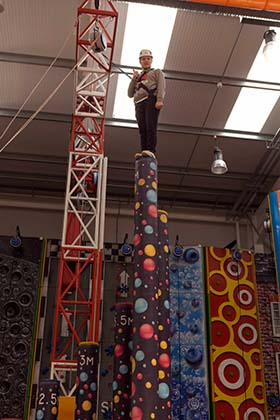 Kai Austin tries out the new Inclusive Sessions at Summit Indoor Adventure.