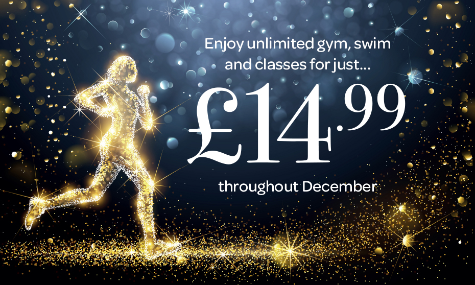 Enjoy unlimited gym, swim and classes for just £14.99