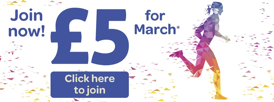 Join Now! £5 for March