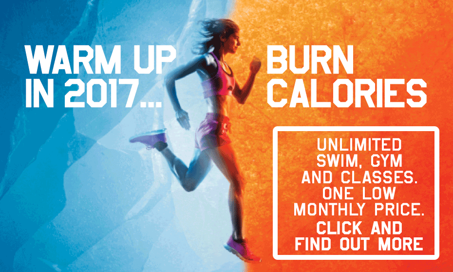 Warm up in 2017 with Inspiring healthy lifestyles leisure centres
