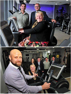 The health and fitness suite at Howe Bridge Leisure Centre has opened